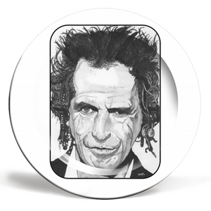 Keith Richards Plate
