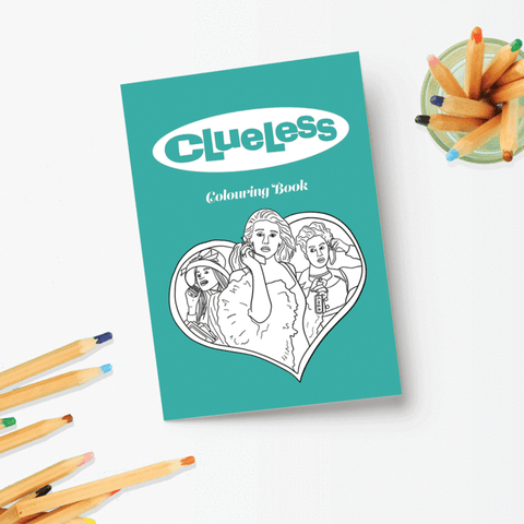 Clueless Coloring Book