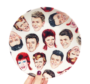 The Many Faces Of Bowie Plate