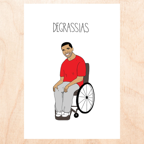 Degrassias Greeting Card