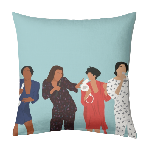 Living Single Linen Pillow