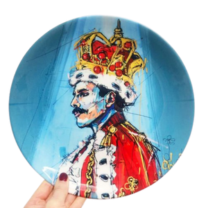 King Of Rock Portrait Plate