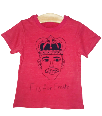 F Is For Freddie Kids Tee