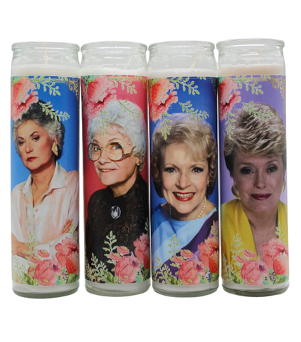 Stay Golden Prayer Candle Set