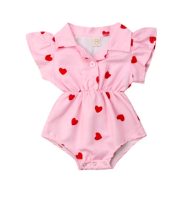Betty Heart Onesie