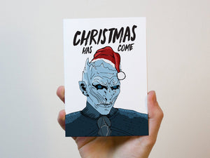 Game Of Thrones Christmas Greeting Card
