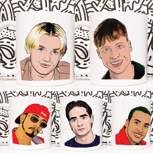 Backstreet Boys (Set Of 5 Mugs)