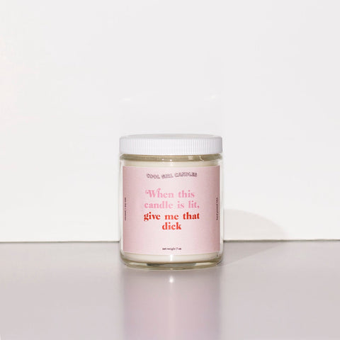 Give Me That D 7oz Candle (Coconut + Hibiscus)