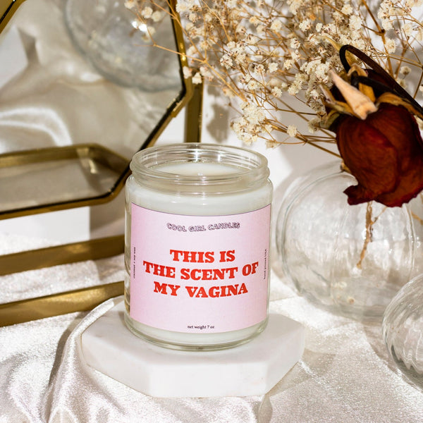 Scent Of My Vagina 7oz Candle (Glazed Cronut)