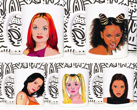 Spice Girls Coffee Mug