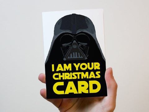Star Wars Christmas Greeting Card