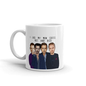 Hot and Rich Men Mug