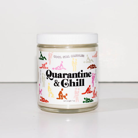 Quarantine & Chill 7oz Candle (Wildberries + Vanilla)