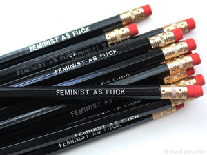 Feminist As Fuck Pencil Set