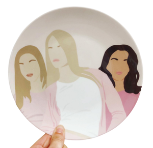 Mean Girls Plate
