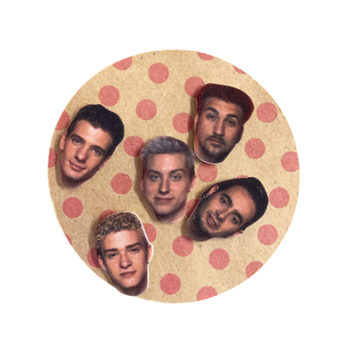 Nsync Mini Stud Earrings