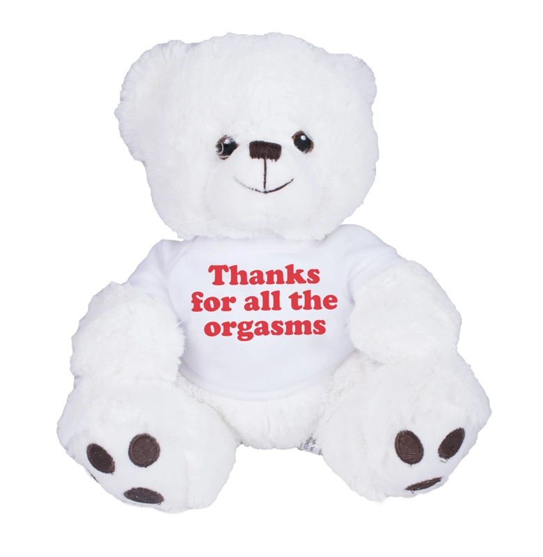 Thanks For All The Orgasms Bear