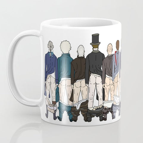 Presidents Butts Mug