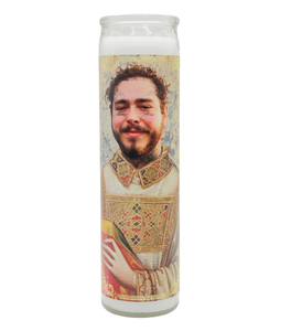 Post Malone Prayer Candle