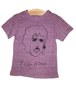 P Is For Prince Kids Tee