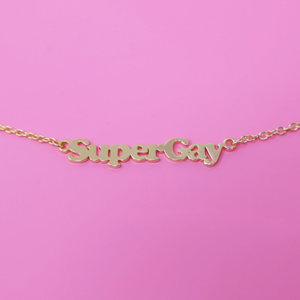 SuperGay Necklace