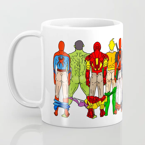Superhero Butts Mug
