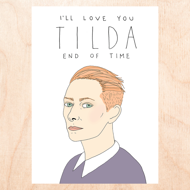 Tilda End of Time Greeting Card