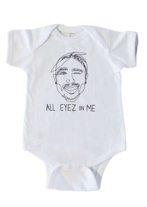 Tupac All Eyez On Me Onesie