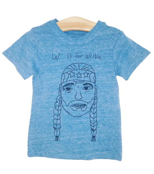 W Is For Willie Kids Tee