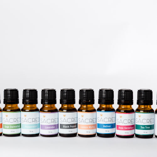 Sacred Essential Oil Range