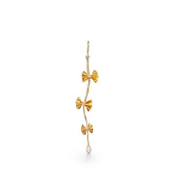 Storm Gold Earring