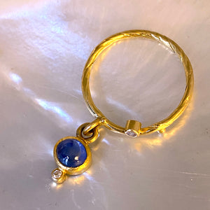 Seafire Ring with pendant