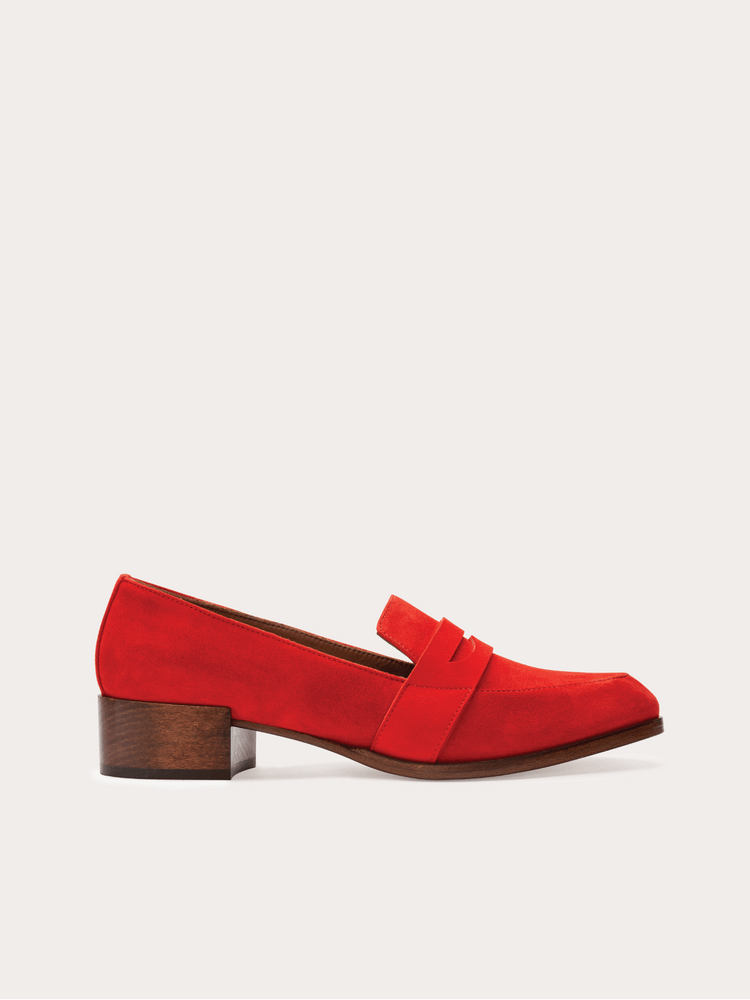 Thelma Loafer in Flame