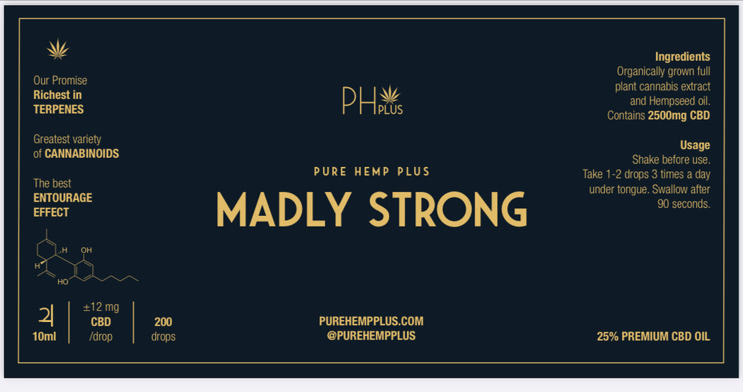 PH+ Madly Strong 25%