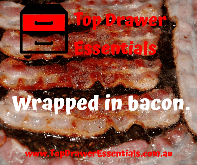 Wrapped in bacon