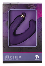 Load image into Gallery viewer, Rock Chick Dual Clitoral/G-Spot Stimulator Vibrator - Top Drawer Essentials