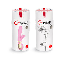 Load image into Gallery viewer, Grabbit Candy Pink Rabbit Vibrator - Top Drawer Essentials