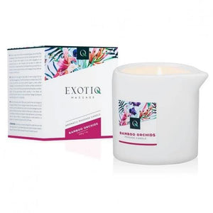 Exotiq Massage Candle Bamboo Orchids 200g - Top Drawer Essentials