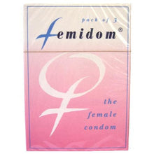 Load image into Gallery viewer, Femidom Female Condom (3pack) - Top Drawer Essentials