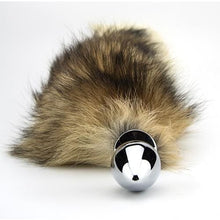 Load image into Gallery viewer, Furry Fantasy Red Fox Tail Butt Plug - Top Drawer Essentials