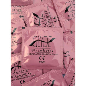 Glyde Ultra Condoms 100 Bulk Pack (Select your size and colour/flavour) - Top Drawer Essentials