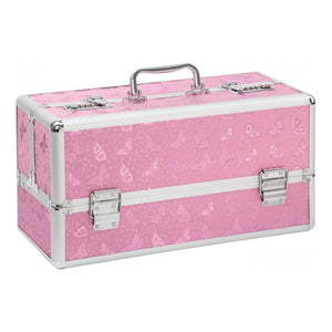 Lockable Large Vibrator Case in Pink or Black - Top Drawer Essentials