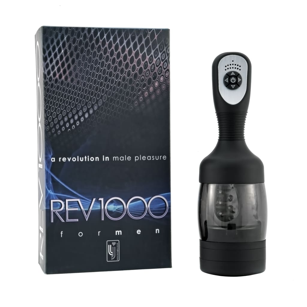 REV1000 Rechargeable Male Masturbator - Top Drawer Essentials