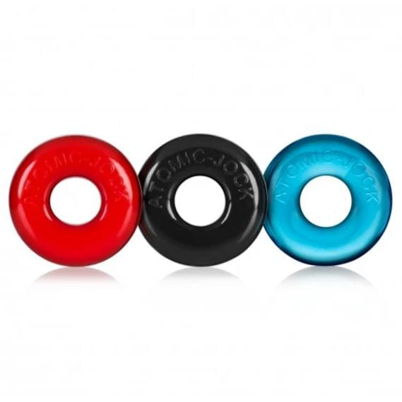 Ringer 3 Pack Of Do-Nut 1 Cockrings Small - Top Drawer Essentials