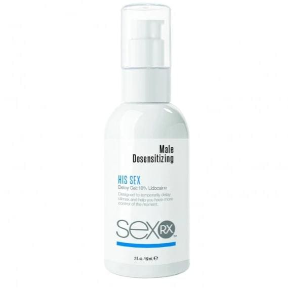 SexRX Male Desensitising Delay Gel 59ml - Top Drawer Essentials