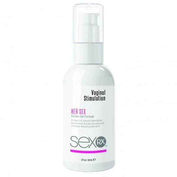 SexRX Vaginal Stimulation Excite Gel 59ml - Top Drawer Essentials
