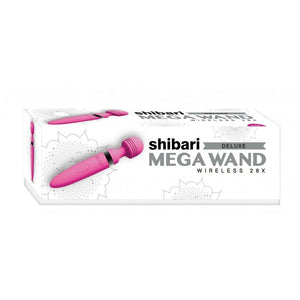 Shibari Deluxe Mega Wireless 28X Vibrator (Pink, Purple and Black) - Top Drawer Essentials