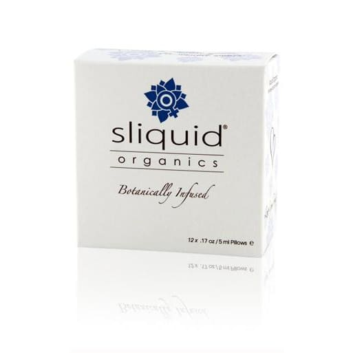 Sliquid Organic Personal Lubricant Cube - Top Drawer Essentials