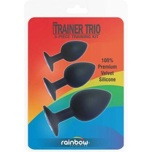 Trainer Trio 3 Piece Butt Plug Training Kit - Top Drawer Essentials