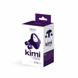 Vedo Kimi Rechargeable Dual Finger Vibe Vibrator - Top Drawer Essentials